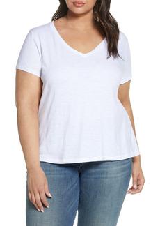 Eileen Fisher Organic Cotton T-Shirt (Plus Size)