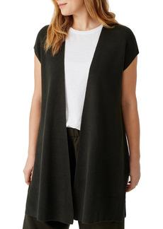 Eileen Fisher Organic Linen & Cotton Vest