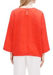 Eileen Fisher Organic Linen Boxy Tunic