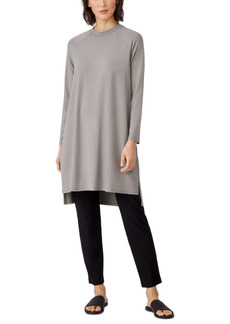 Eileen Fisher Raglan-Sleeve Dress