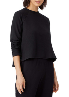 Eileen Fisher Raglan Sleeve Sweatshirt