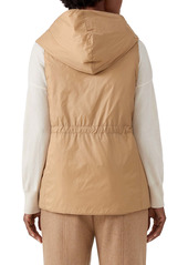 Eileen Fisher Recycled Nylon Hooded Vest