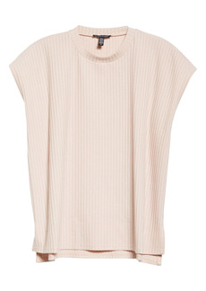 Eileen Fisher Ribbed Organic Cotton Top