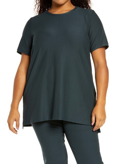 Eileen Fisher Short Sleeve Tunic Top (Plus Size)