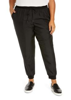 Eileen Fisher Silk Joggers (Plus Size)