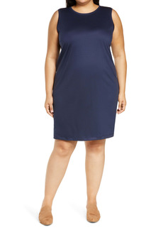 Eileen Fisher Sleeveless Knit Dress (Plus Size)