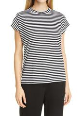 Eileen Fisher Stripe Boxy T-Shirt
