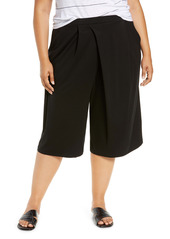 Eileen Fisher Wide Leg Culottes (Plus Size)