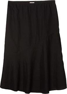 Eileen Fisher Flared Skirt with Asymmetrical Hem