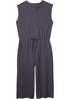 Eileen Fisher Jewel Neck Wide Leg Cropped Jumpsuit