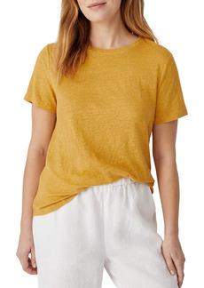 Eileen Fisher Linen T-Shirt
