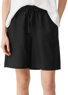 Eileen Fisher Mid-Thigh Drawstring Shorts