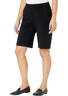 Eileen Fisher Organic Cotton Stretch Jersey Walking Shorts