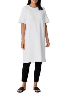 Petite Women's Eileen Fisher Crewneck T-Shirt Dress