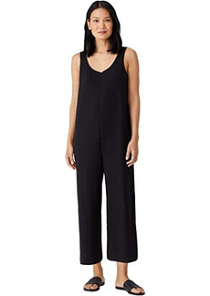 Eileen Fisher Tencel Organic Cotton Fleece Jumpsuit