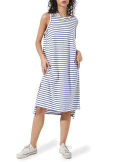 Electric & Rose Posey Stripe Sleeveless Dress