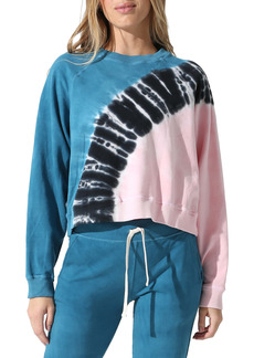 Electric & Rose Ronan Crest Tie Dye Pullover