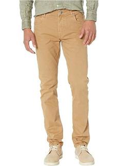Eleventy Cotton Stretch Five-Pocket Pants