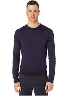 Eleventy Fine Gauge Crew Neck Sweater