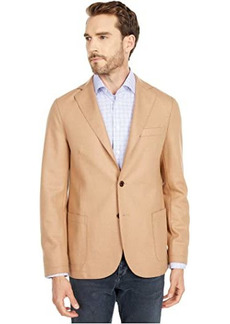 Eleventy Flannel Stretch Laser Cut Jacket