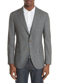 Men's Eleventy Slim Fit Wool Blazer