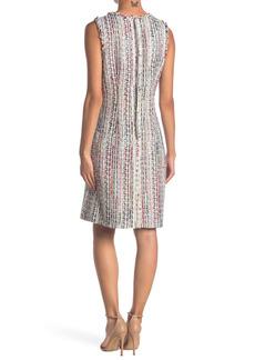 Elie Tahari Dean Tweed Sleeveless Dress