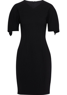Elie Tahari Woman Percy Draped Crepe Dress Black