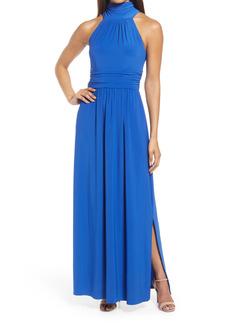 Eliza J High Neck Maxi Dress