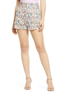 Endless Rose Floral High Waist Shorts