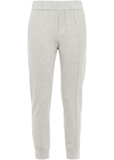 Enza Costa Woman Stretch-jersey Track Pants Light Gray