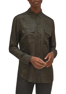 Equipment Signature Silk Button-Up Shirt
