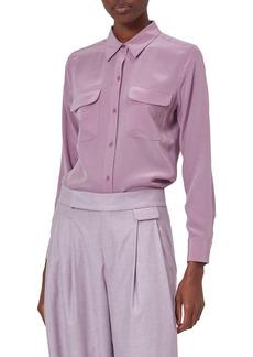 Equipment Slim Signature Silk Button-Up Shirt