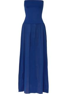 Eres Zephyr Ankara Stretch And Cotton-jersey Maxi Dress
