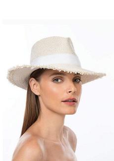 Eric Javits Fringed Fedora Sun Hat