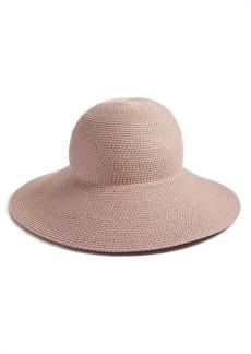 Women's Eric Javits 'Hampton' Straw Sun Hat - Pink