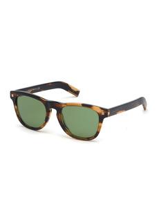Ermenegildo Zegna 53mm Geometric Sunglasses
