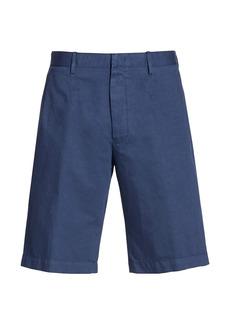 Ermenegildo Zegna Cotton-Linen Shorts