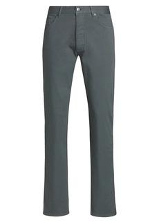Ermenegildo Zegna Dark Straight-Leg Jeans