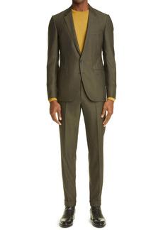 Ermenegildo Zegna Achillfarm Wool & Silk Suit