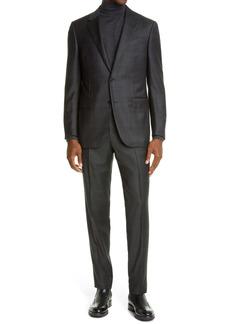 Ermenegildo Zegna Milano Shadow Plaid Suit