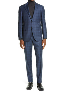 Ermenegildo Zegna Plaid Wool Suit