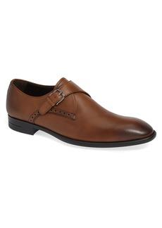 Ermenegildo Zegna Single Strap Monk Shoe (Men)