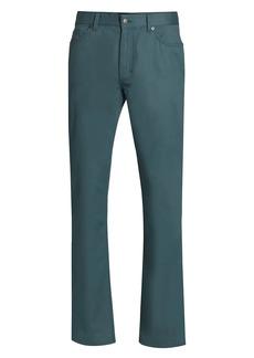Ermenegildo Zegna Five-Pocket Cotton Stretch Trousers