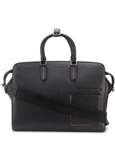 Ermenegildo Zegna grained leather holdall
