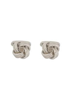 Ermenegildo Zegna Knot carved cufflinks