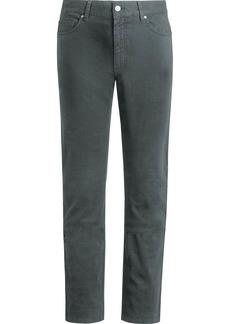 Ermenegildo Zegna logo patch straight-leg jeans