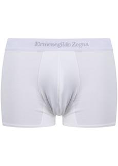 Ermenegildo Zegna logo-waist cotton boxer shorts