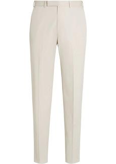 Ermenegildo Zegna Premium Cotton tailored trousers