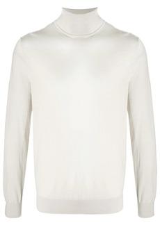 Ermenegildo Zegna roll neck thin knit top