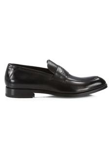 Ermenegildo Zegna Siena Flex Leather Penny Loafers